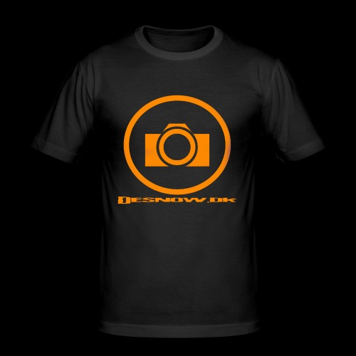 Orange 2 png - Herre Slim Fit T-Shirt