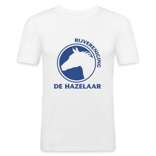 LgHazelaarPantoneReflexBl - Mannen slim fit T-shirt