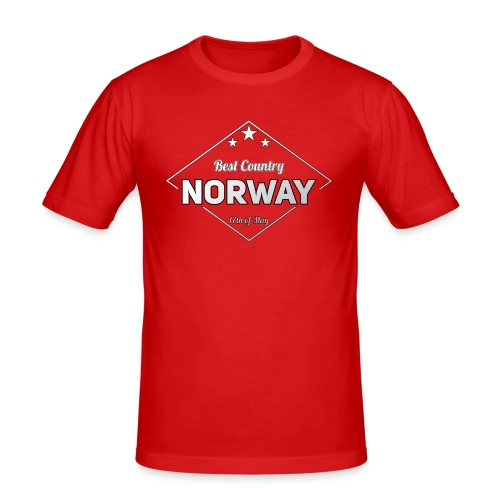 NORWAY - Men's Slim Fit T-Shirt