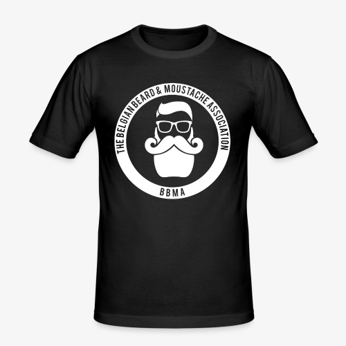bbmafront - Mannen slim fit T-shirt