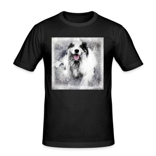Cody bw - Männer Slim Fit T-Shirt