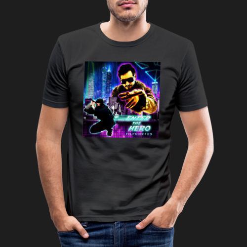 Enter the Hero - Miesten tyköistuva t-paita