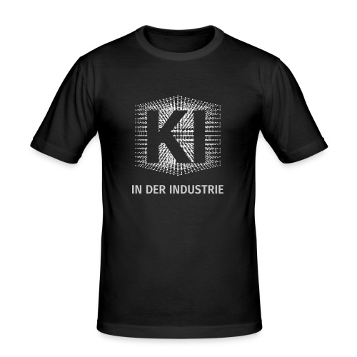 KI in der Industrie - der Podcast - Männer Slim Fit T-Shirt