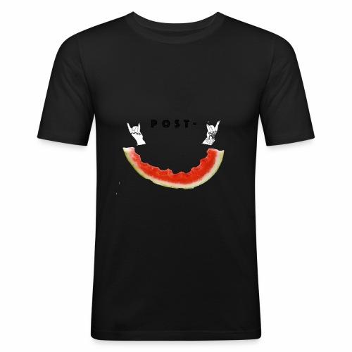 Post Melone - Slim Fit T-skjorte for menn