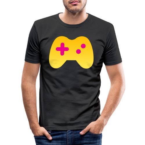 Liberale Gamer Controller - Männer Slim Fit T-Shirt