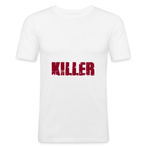 Serial Killer - Männer Slim Fit T-Shirt