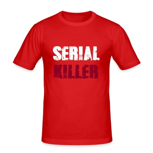 Serial Killer - Männer Slim Fit T-Shirt
