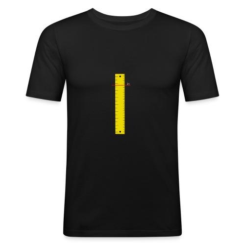 regla - Camiseta ajustada hombre