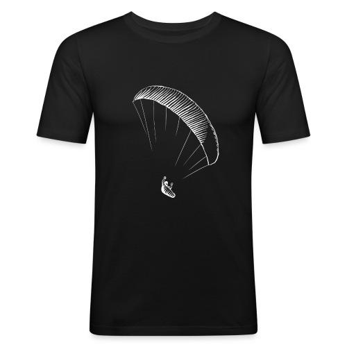 paraglider gerlitzen weiss - Männer Slim Fit T-Shirt
