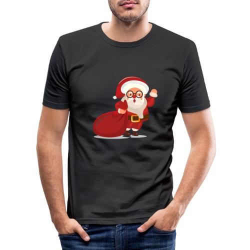 Christmas 02 - T-shirt près du corps Homme