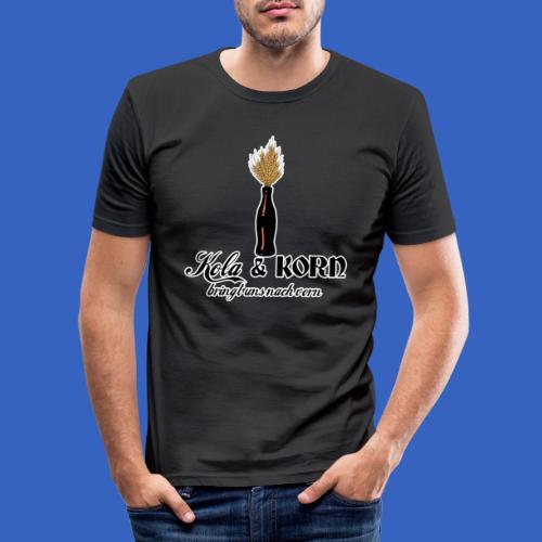Kola und Korn - Männer Slim Fit T-Shirt