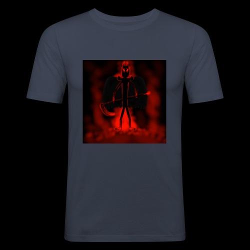 Corrupted Nightcrawler - Men's Slim Fit T-Shirt