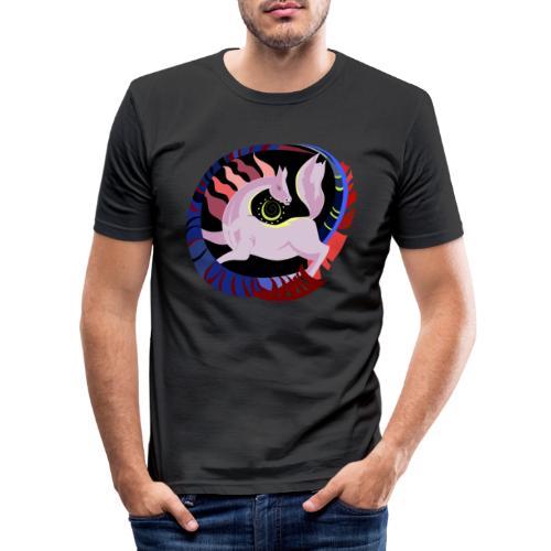 Spirale infinita - Maglietta aderente da uomo
