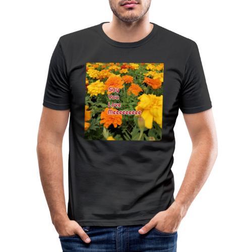 Säg att du älskar mig - Slim Fit T-shirt herr