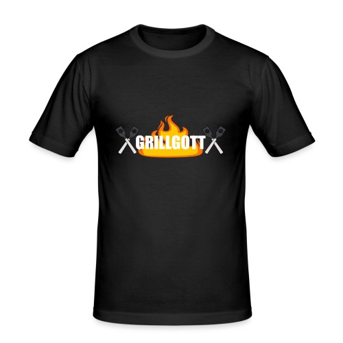 Grillgott Barbecue Experte - Männer Slim Fit T-Shirt