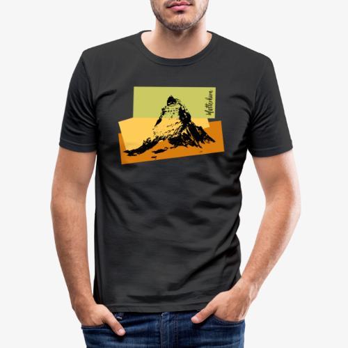 Matterhorn - Men's Slim Fit T-Shirt