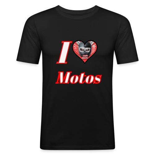 ilovemotos - Camiseta ajustada hombre