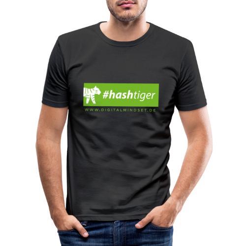 hashtiger - Männer Slim Fit T-Shirt
