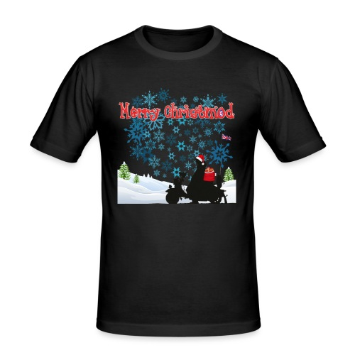 new merry christmod new design - Men's Slim Fit T-Shirt