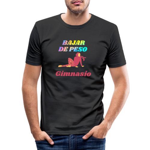 Gimnasia para bajar de peso - Camiseta ajustada hombre