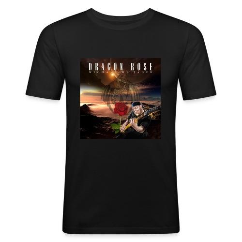 Dragon Rose - Men's Slim Fit T-Shirt