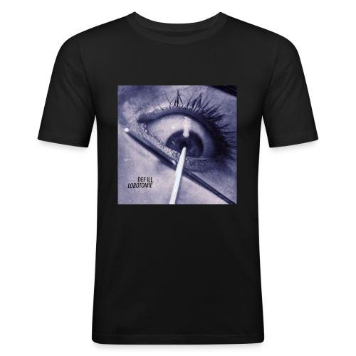 Def Ill - Lobotomie Cover Artwork Shirt - Männer Slim Fit T-Shirt
