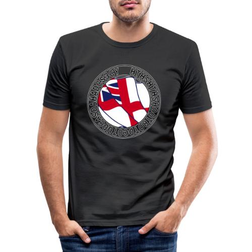 Hands to Harbour Stations (DC) - Men's Slim Fit T-Shirt
