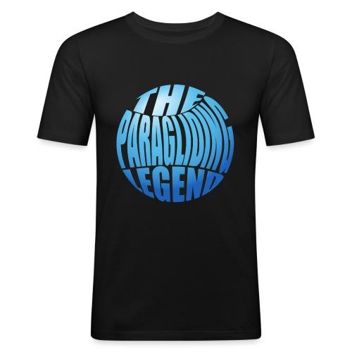 The Paragliding Legend - Männer Slim Fit T-Shirt