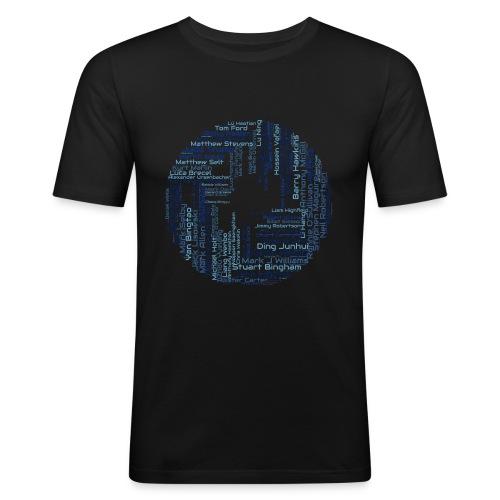 SnookerWorldRanking - Männer Slim Fit T-Shirt