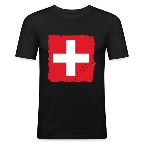 Schweiz 21.1 - Männer Slim Fit T-Shirt