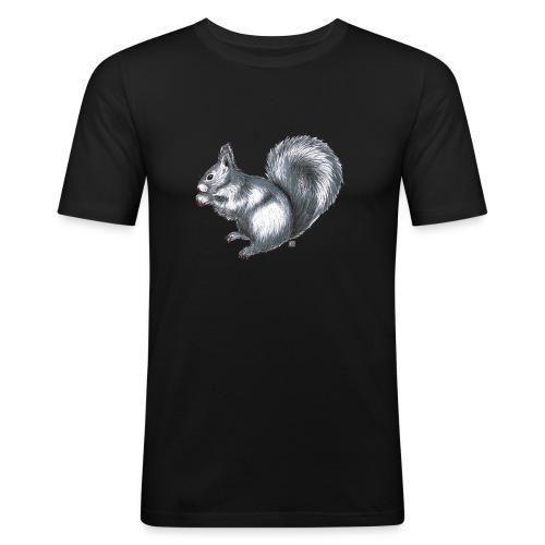 Eichhörnchen - Männer Slim Fit T-Shirt
