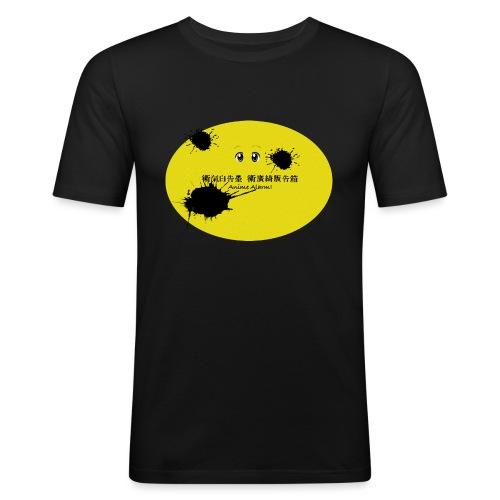 Anime Alarm! - Klecks - Männer Slim Fit T-Shirt