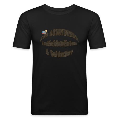 Abenteurer Individualisten & Entdecker - Männer Slim Fit T-Shirt