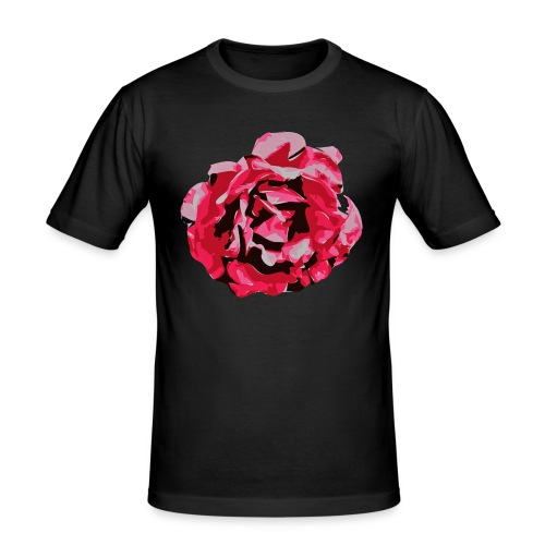 rose - Männer Slim Fit T-Shirt