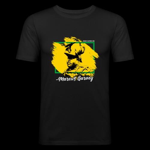 MARCUS GARVEY by Reggae-Clothing.com - Männer Slim Fit T-Shirt