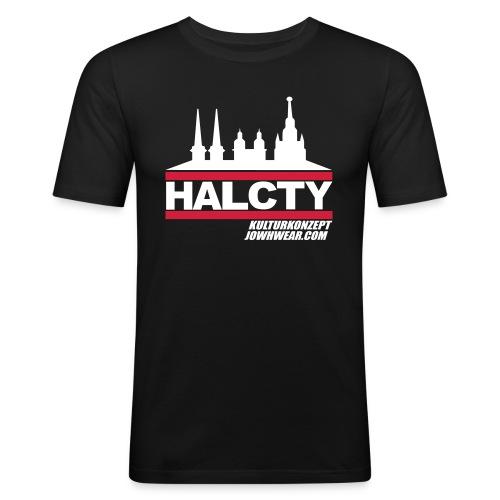 HAL.CTY by JOWHWEAR.COM - Männer Slim Fit T-Shirt
