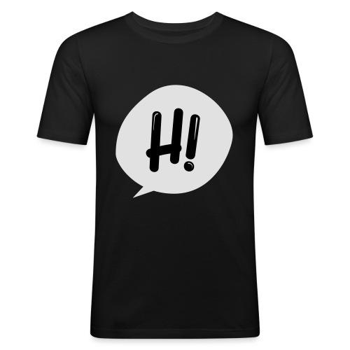 Hinimation studio - Maglietta aderente da uomo