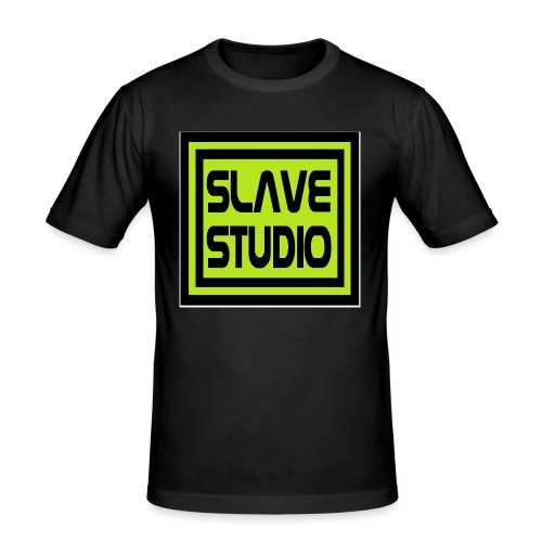 Slave Studio logo - Maglietta aderente da uomo