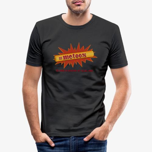 #metoos (rough) - Slim Fit T-shirt herr
