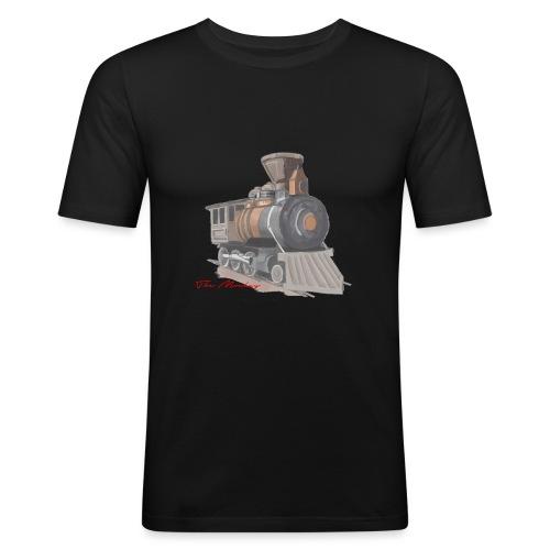 steam locomotive - Herre Slim Fit T-Shirt