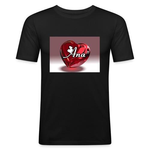 20180611 225217 - Mannen slim fit T-shirt