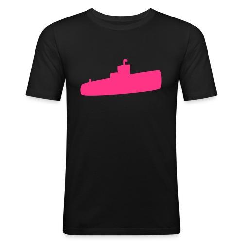 Rosa U-Boot - Männer Slim Fit T-Shirt