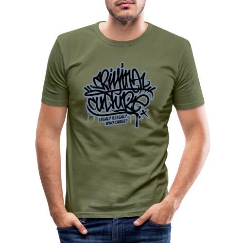 Criminal Culture - Männer Slim Fit T-Shirt