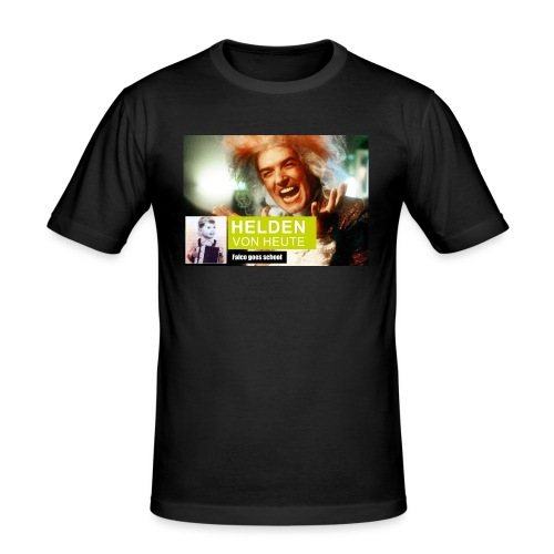 Helden von heute - Designed products - Männer Slim Fit T-Shirt