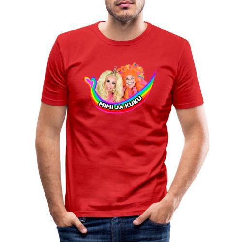 Mimi ja Kuku - Miesten tyköistuva t-paita