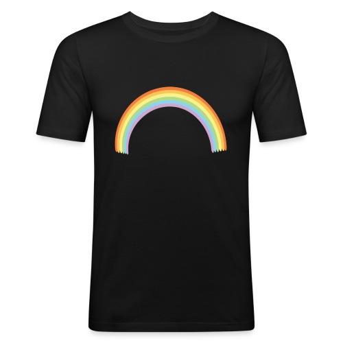 Arco Iris - Camiseta ajustada hombre