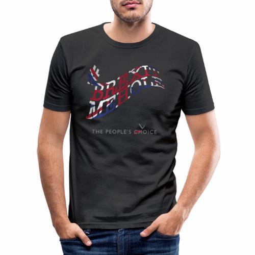 Brexitmehole - Men's Slim Fit T-Shirt