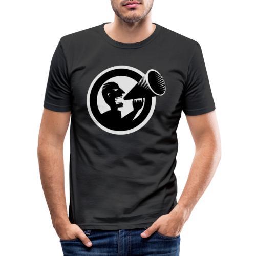 Der Schrei - Männer Slim Fit T-Shirt