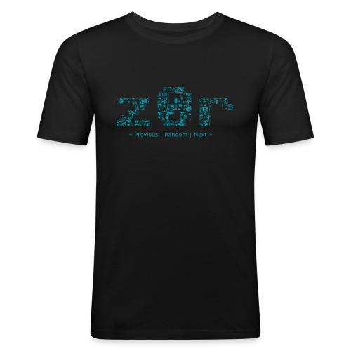 z0r Logo - Men's Slim Fit T-Shirt