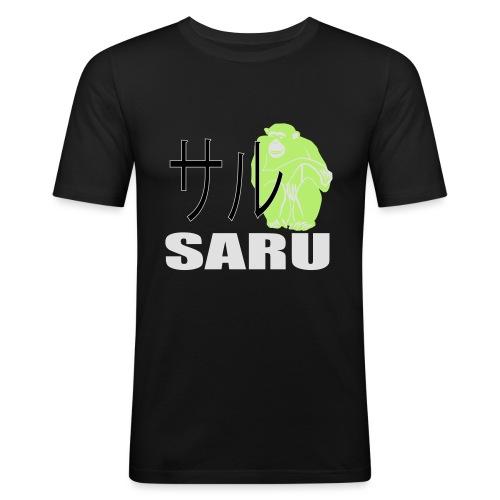 7279459_128361579_SaruAffe_orig - Männer Slim Fit T-Shirt